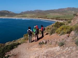 Andalusien wandern entlang der Küste