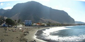Strandpanorama La Gomera