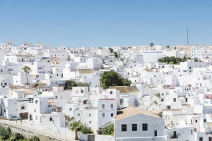 Vejer de la Frontera is a little town near Cadiz. It is placed on a hill and is characterized from white houses and small streets with great slope.