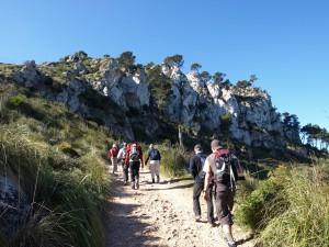 Mallorca wandern Tramuntana-Gebirge