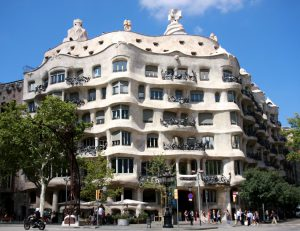 Barcelona - Casa Mila von Gaudí